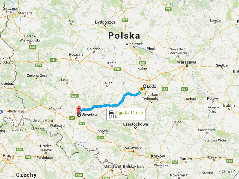 Przeprowadzki Wrocław Łódź