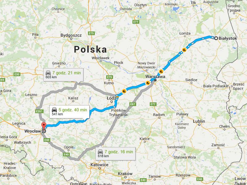 Przeprowadzki Wrocław Białystok