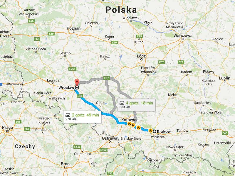 Przeprowadzki Wrocław Kraków