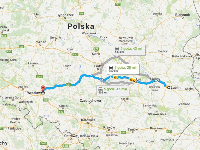 Przeprowadzki Wrocław Lublin