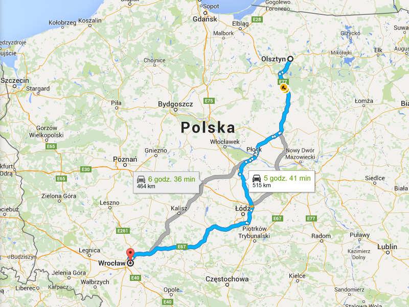 Przeprowadzki Wrocław Olsztyn