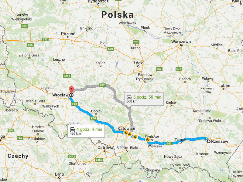 Przeprowadzki Wrocław Rzeszów