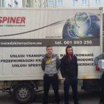 Przeprowadzki wrocław - Eurospiner 7
