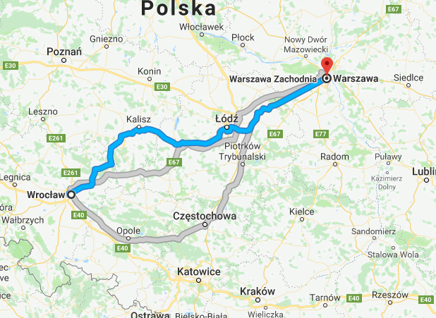 Przeprowadzka Wroclaw Warszawa