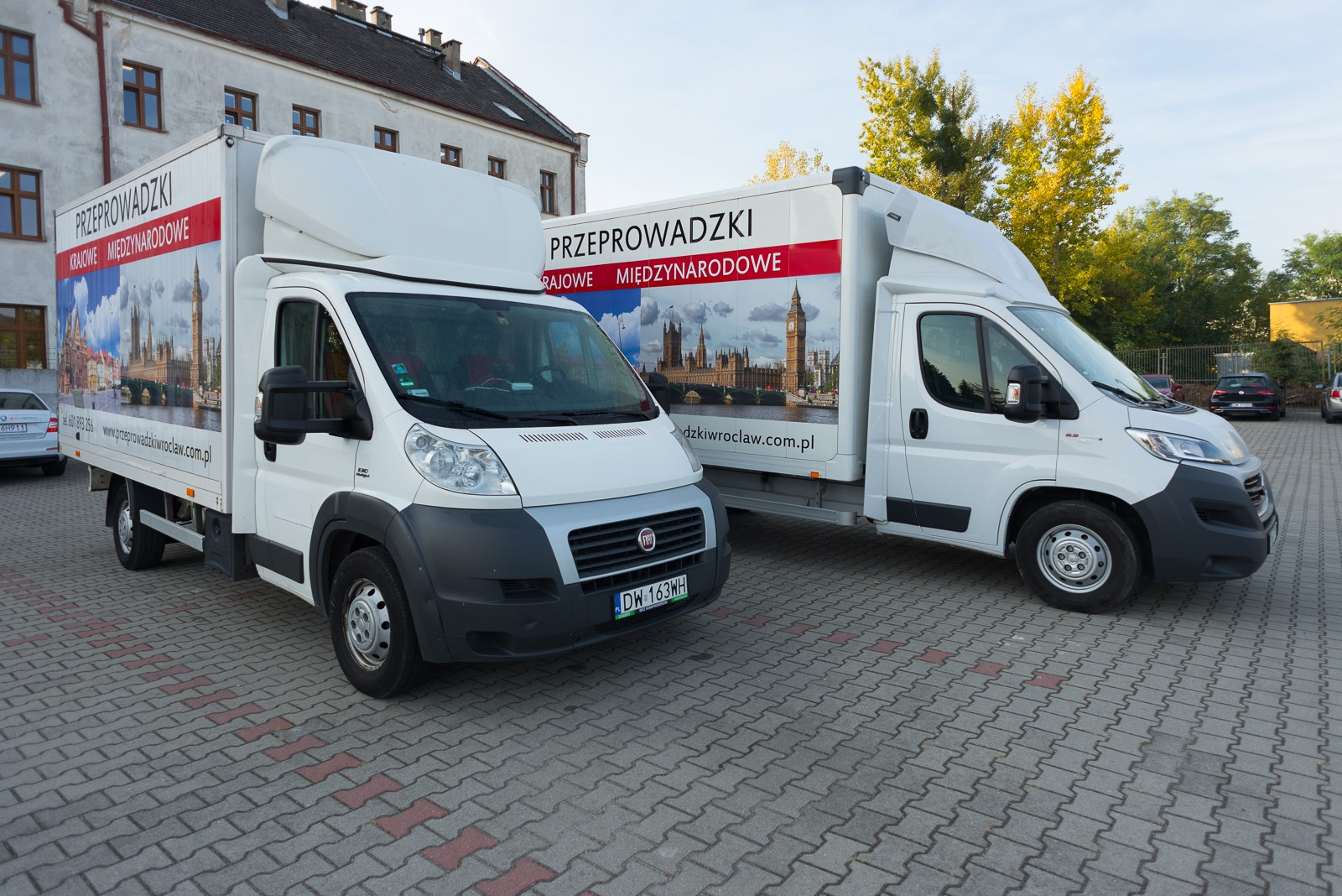 Przeprowadzki Wroclaw - Eurospiner flota 3