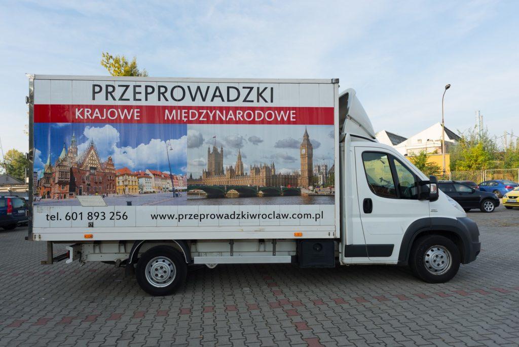 Przeprowadzki Wroclaw - Eurospiner flota 4