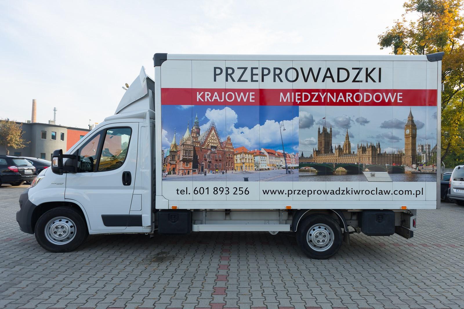 Przeprowadzki Wroclaw - Eurospiner flota 5
