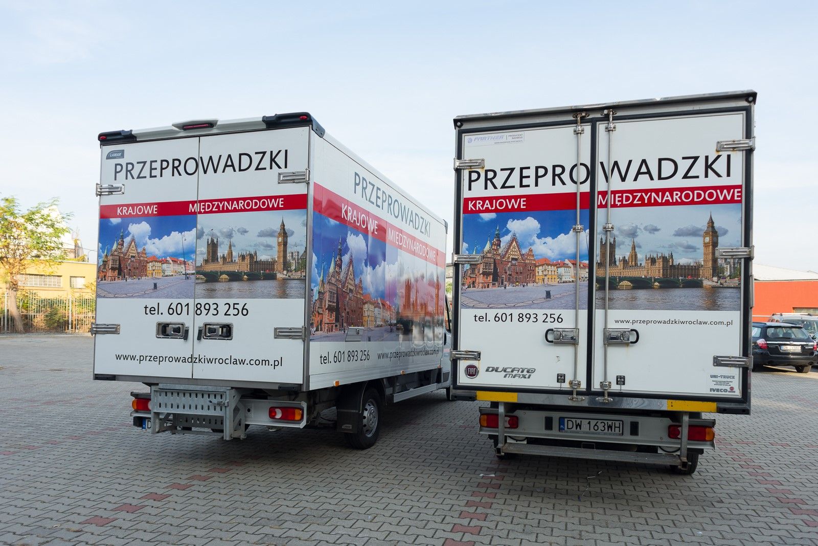 Przeprowadzki Wroclaw - Eurospiner flota 6