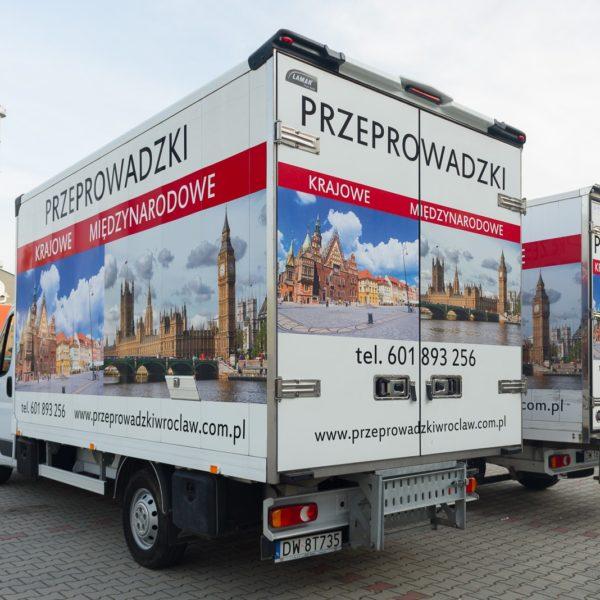 Przeprowadzki Wroclaw - Eurospiner flota 8
