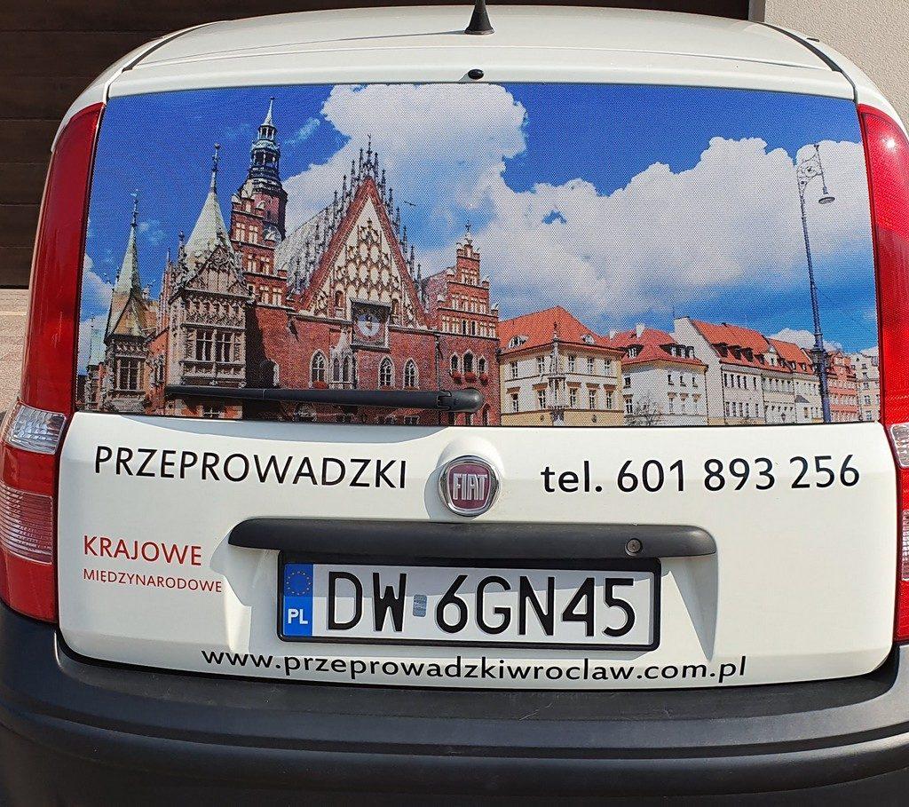 Przeprowadzki Wrocław - auto techniczne