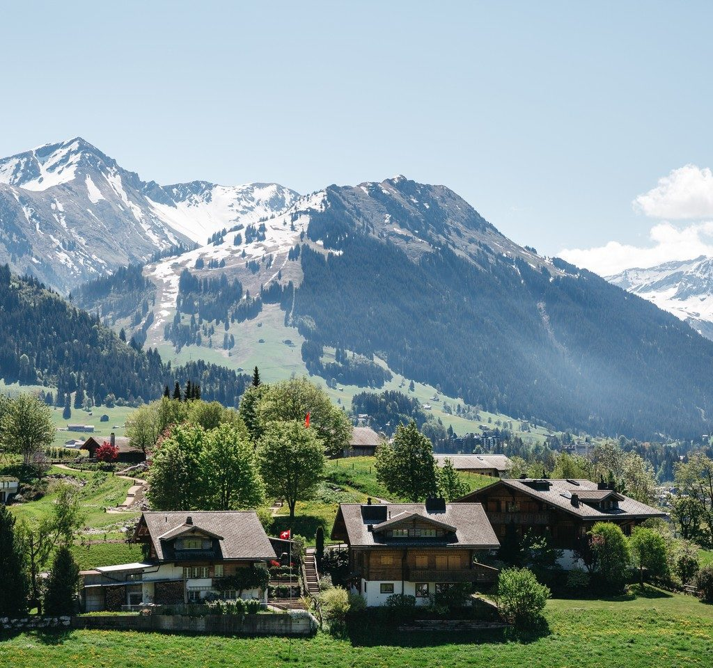 Przeprowadzka do Szwajcarii - piękna wioska