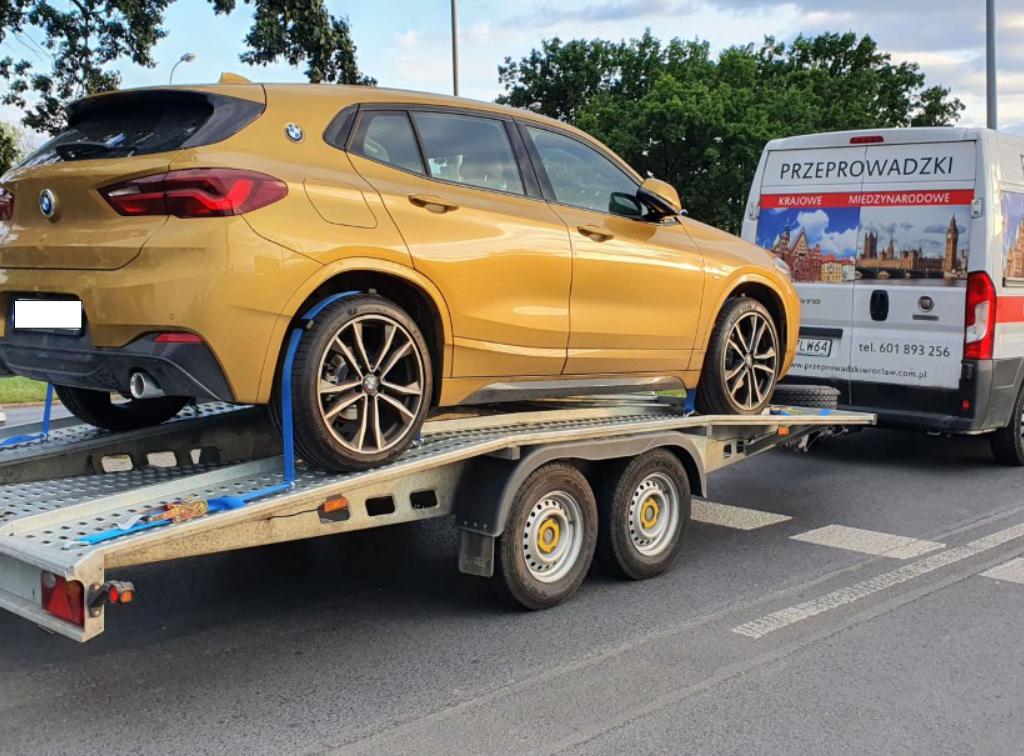Przeprowadzka do Hiszpanii - Przewóz auta Klienta